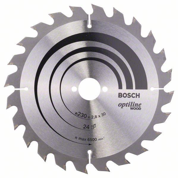 Disc Optiline Wood 230x30, 24 GKS 85 [0]
