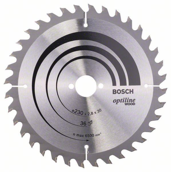 Disc Optiline Wood 230x30, 36 GKS 85 [0]