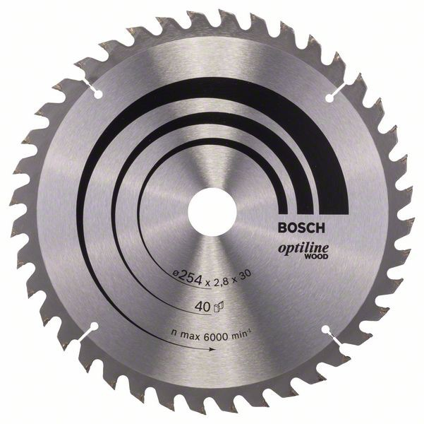 Disc pentru lemn Optiline Wood 254x30 Z40 [1]
