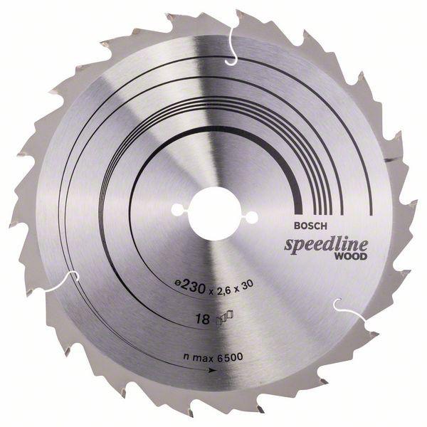Disc pentru lemn Speedline Wood 230X30 Z18 [1]