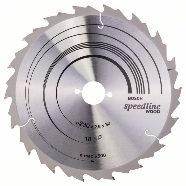 Disc pentru lemn Speedline Wood 230X30 Z18 [0]
