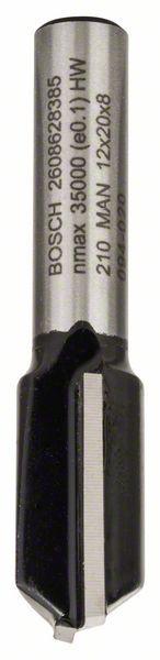 Freza dreapta, 8mm, D1 12mm, L 20mm, G 51mm 8mm, D1 12mm, L 20mm, G 51mm [0]