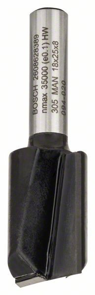 Freza dreapta, 8mm, D1 18mm, L 25mm, G 56mm 8mm, D1 18mm, L 25mm, G 56mm [0]