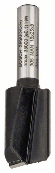 Freza dreapta, 8mm, D1 18mm, L 25mm, G 56mm 8mm, D1 18mm, L 25mm, G 56mm [1]