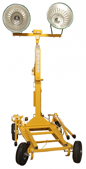 Kipor KLB1000-2 turn de iluminat 2x1000W, halogen, telescopic [0]
