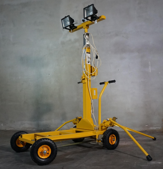Kipor KLJ400-2 turn de iluminat 2x400W, halogen, telescopic [1]