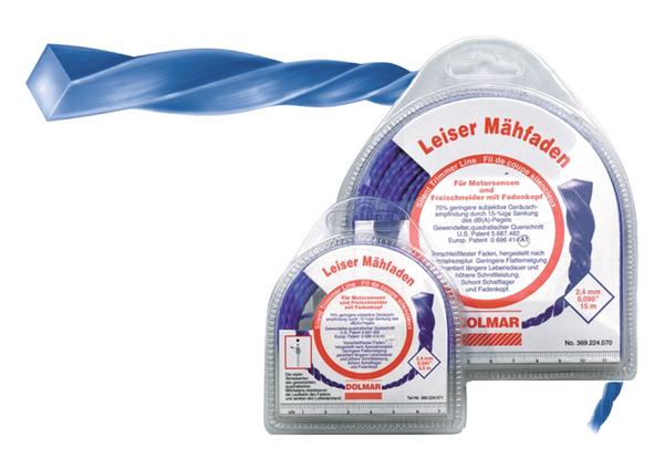 Makita 369224072 fir de taiere silentios 2.4mm, 120m [0]
