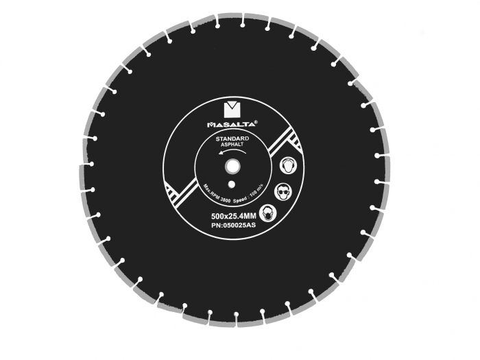 Masalta Disc diamantat asfalt 500mm PRO 0
