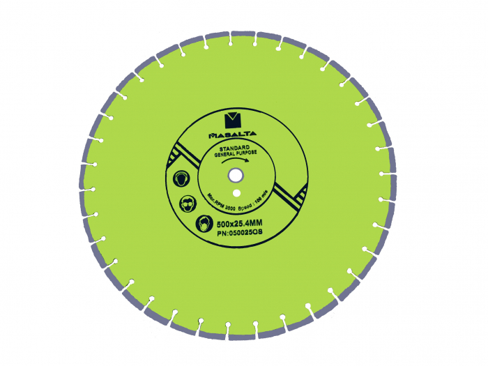 Masalta Disc diamantat uz general 450mm STD 0