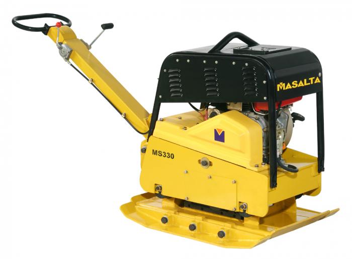 Masalta MS330-3 Placa compactoare grea, reversibila, Robin EX27, benzina [0]