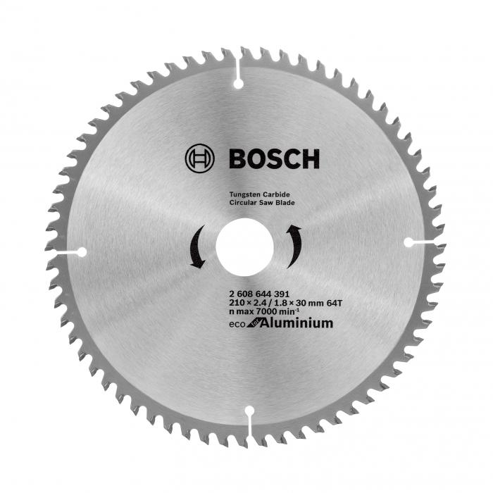 Panza de ferastrau circular Eco for Aluminium 210x2.4/1.8x30 64T [0]