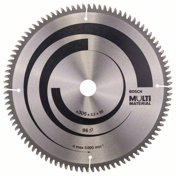 Panza de ferastrau circular Multi Material 305x30x3,2mm 96 [0]