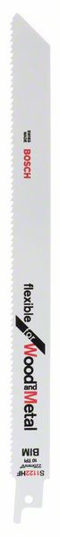 Panza de ferastrau sabie S 1122 HF Flexible for Wood and Metal set 5 buc. [0]