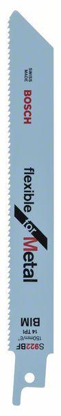 Panza de ferastrau sabie S 922 BF Flexible for Metal set 5 buc. [1]