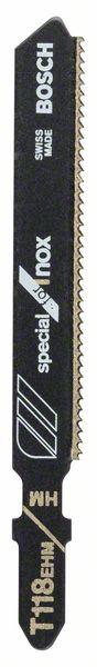 Panza pentru ferastrau vertical T 118 EHM Special for Inox set 3 buc. [0]