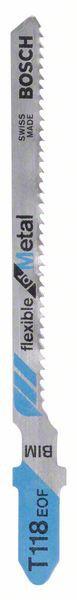 Panza pentru ferastrau vertical T 118 EOF Flexible for Metal set 5 buc. [1]