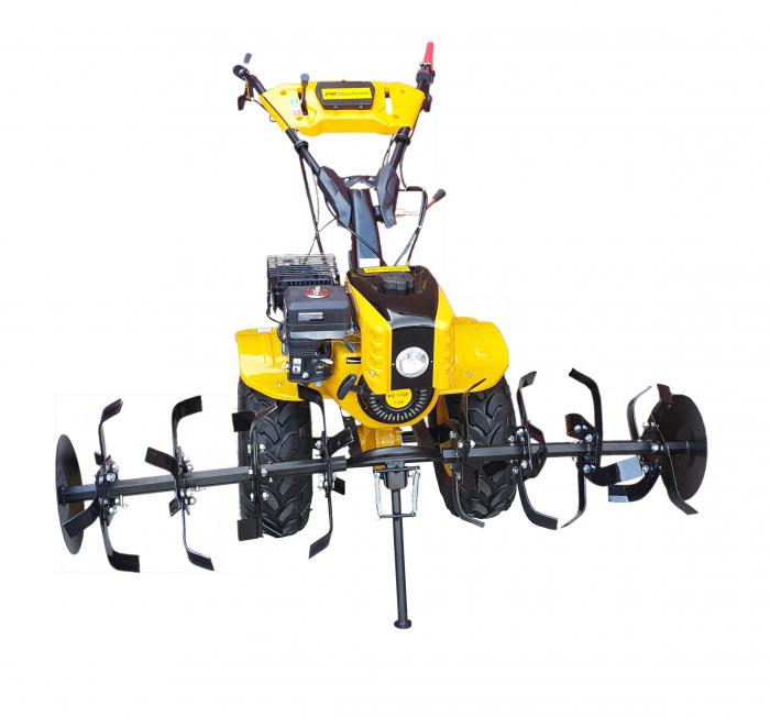 ProGARDEN HS1000BW motocultor 7.5CP, 2+1, roti ATV, manicot rulment, benzina [Campo 854] [1]