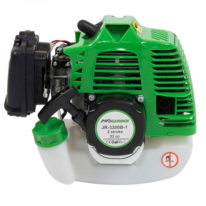 ProGARDEN JR-3300B-1 Motocoasa de umar 1CP, benzina 2t, 33cmc [1]