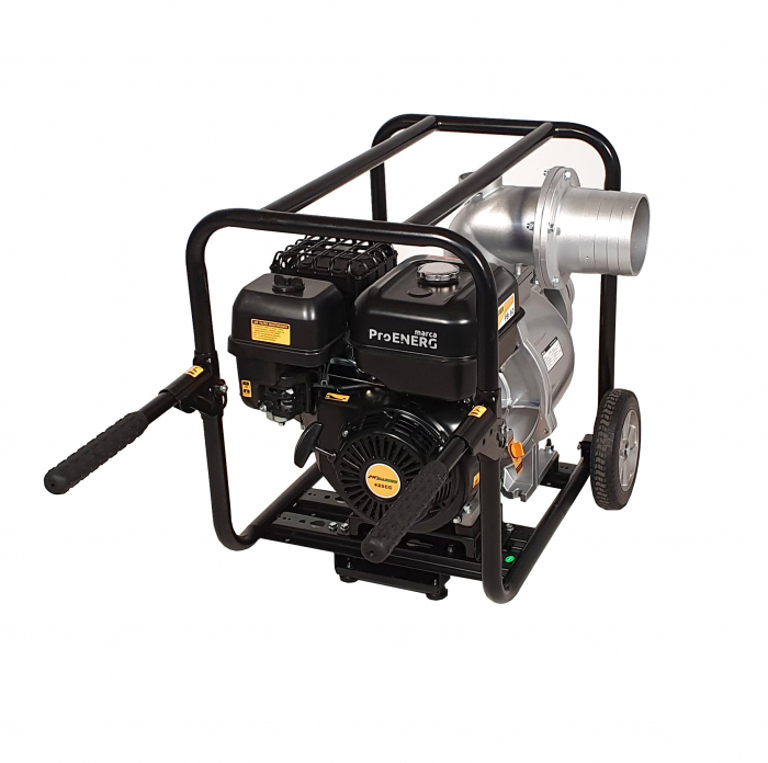 "ProGARDEN PB60 motopompa 6""/150mm, benzina, apa curata, pornire la sfoara [1]"