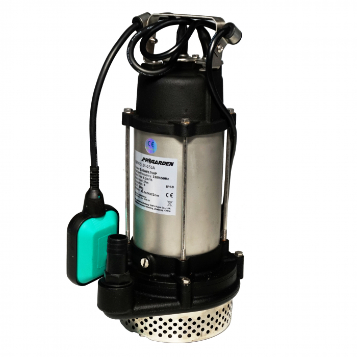 "ProGARDEN QFD1.5-24-0.55A Pompa submersibila 1"", 550W, apa murdara, 100L/min [0]"