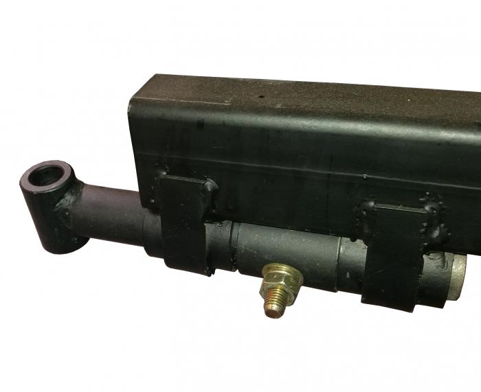ProGARDEN T-300C remorca 300kg pentru motocultor, 1 osie, prindere bolt [2]