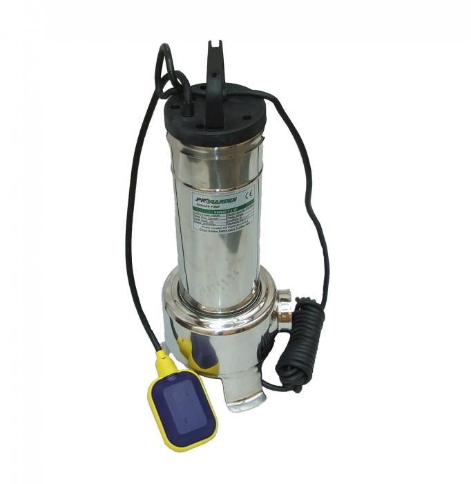 ProGARDEN VSW25-7-1.5F pompa submersibila apa usor murdara, 1500W, 500L/min [0]
