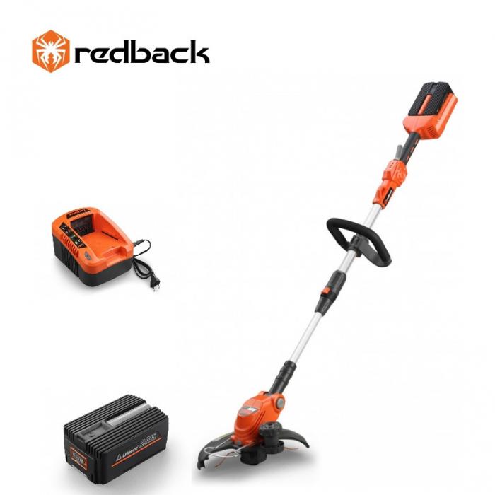 Redback Pachet E312D+EP20+EC20 Trimer gazon, acumulator 40V/2Ah, incarcator 40V/2A 0
