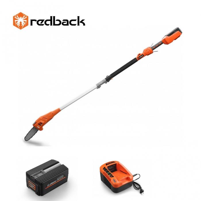 Redback Pachet E608D+EP20+EC20 Emondor 2000mm, acumulator 40V/2Ah, incarcator 40V/2A [0]
