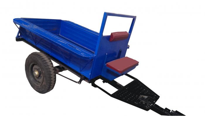 Remorca simpla 1T pentru tractor DF12L [0]