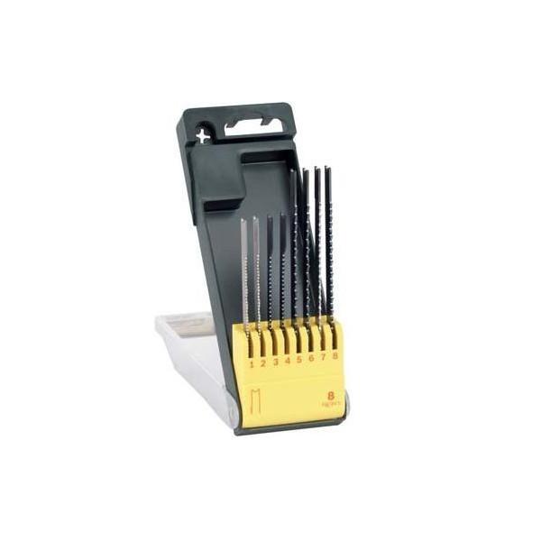 Set 8 panze tip U fierastrau, pentru lemn, metal, plastic 0
