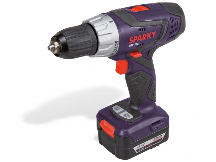Sparky BR2 15Li - Masina de gaurit si insurubat cu acumulator [0]