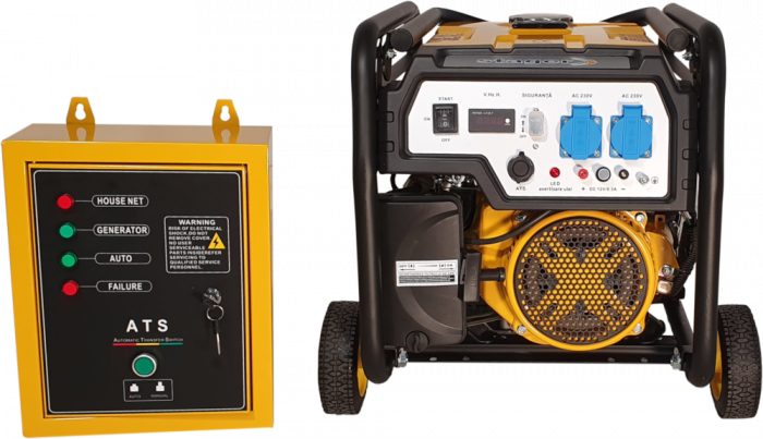 Stager FD 3600E+ATS generator open-frame 2.8kW, monofazat, benzina, automatizare [2]