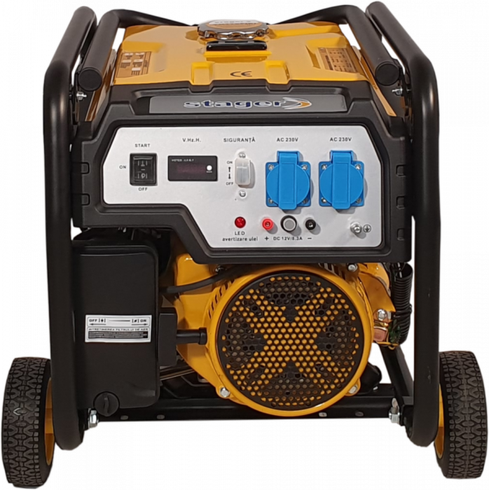 Stager FD 4000E generator open-frame 3.3kW, monofazat, benzina, pornire electrica [2]