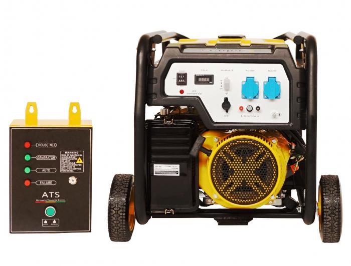 Stager FD 6500E+ATS generator open-frame 5kW, monofazat, benzina, automatizare [2]