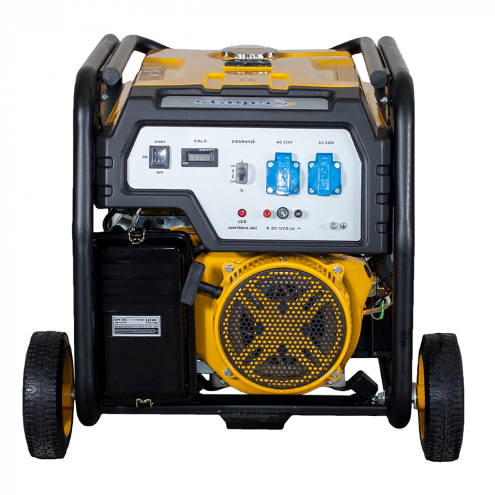 Stager FD 6500E generator open-frame 5kW, monofazat, benzina, pornire electrica [2]