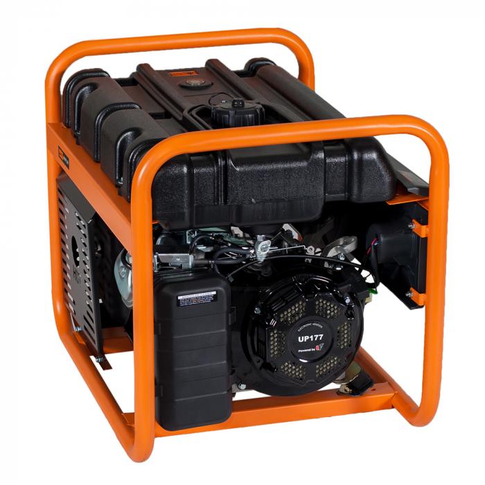 Stager GG 4600 generator open-frame 3.8kW, monofazat, benzina, pornire la sfoara [2]