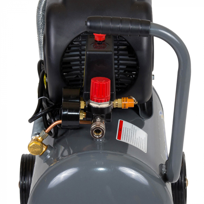 Stager HM2024F compresor aer, 24L, 8bar, 200L/min, monofazat, angrenare directa [0]