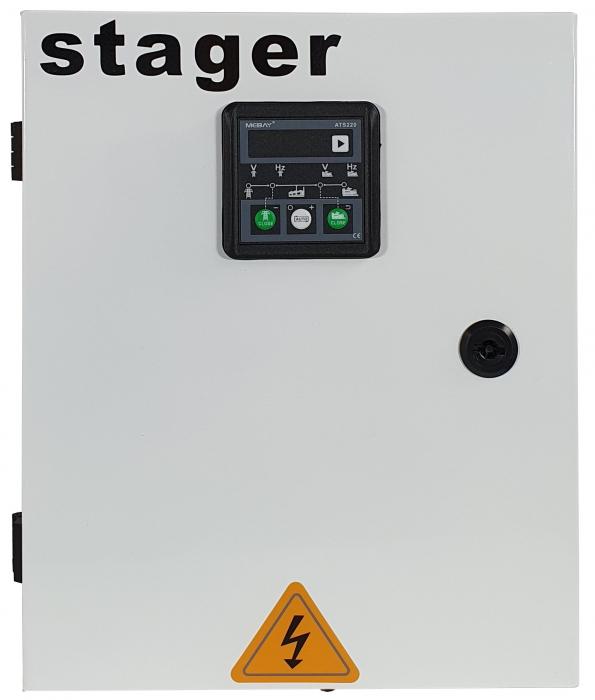 Stager YA40063F12STA automatizare trifazata 63A, 12Vcc, protectie [1]