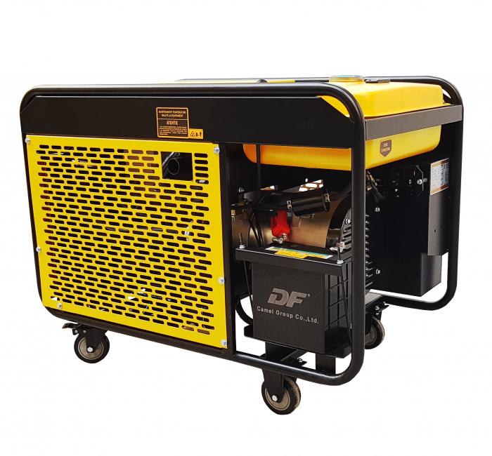 Stager YDE12E3 Generator open frame diesel trifazat, 8kW, pornire la cheie [2]