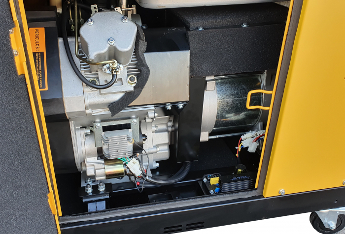 Stager YDE15000T Generator insonorizat diesel monofazat 11kVA, 48A, 3000rpm 0