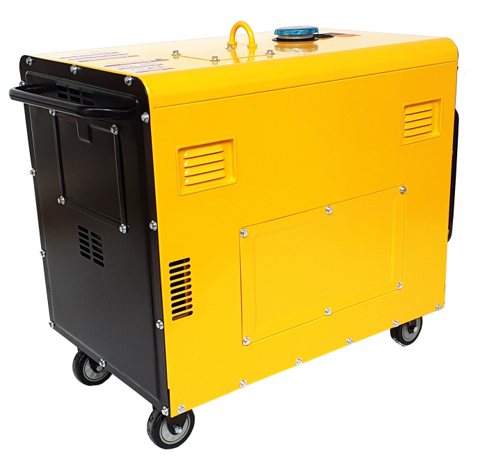 Stager YDE7000TD Generator insonorizat diesel monofazat 4.2kVA, 18A, 3000rpm 0