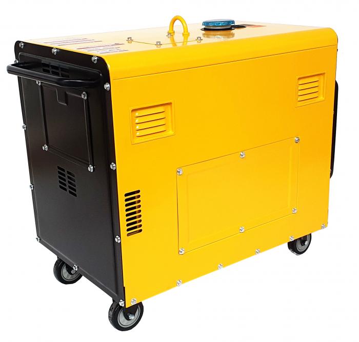 Stager YDE7000TD Generator insonorizat diesel monofazat 4.2kVA, 18A, 3000rpm + automatizare YA40063 inclusa 1