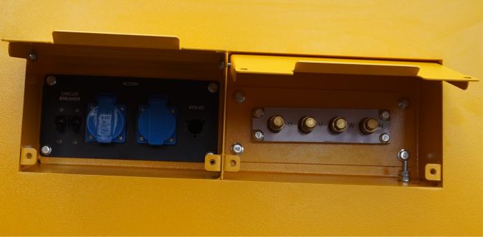 Stager YDY165S3 Generator insonorizat diesel trifazat 150kVA, 217A, 1500rpm 0