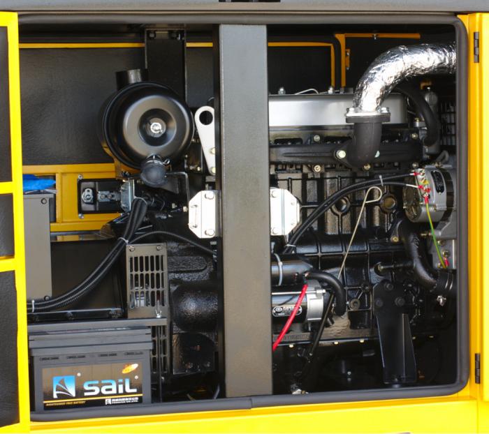Stager YDY22S Generator insonorizat diesel monofazat 20kVA, 87A, 1500rpm [0]
