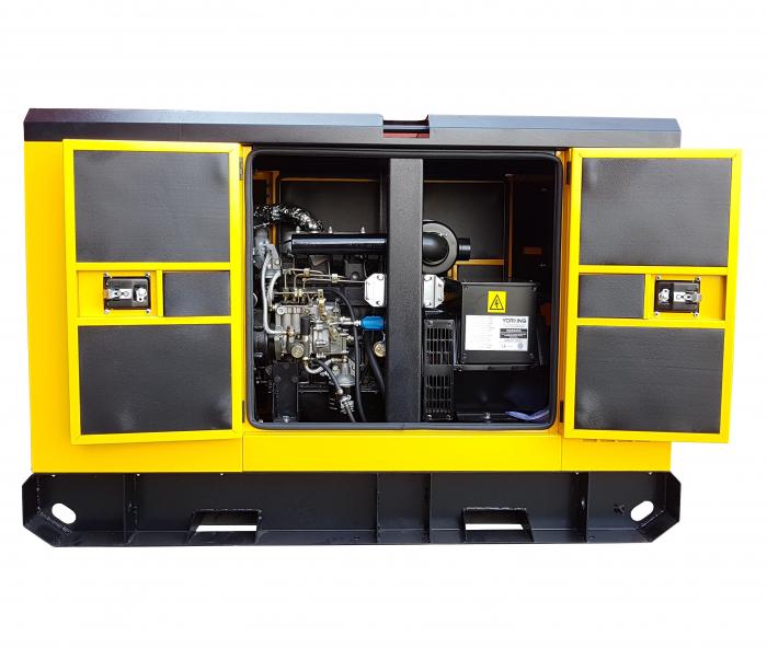 Stager YDY33S3 Generator insonorizat diesel trifazat 30kVA, 43A, 1500rpm [1]