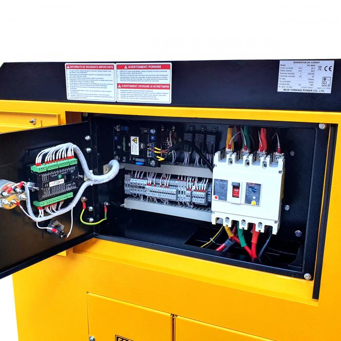 Stager YDY89S3 Generator insonorizat diesel trifazat 80kVA, 115A, 1500rpm [1]
