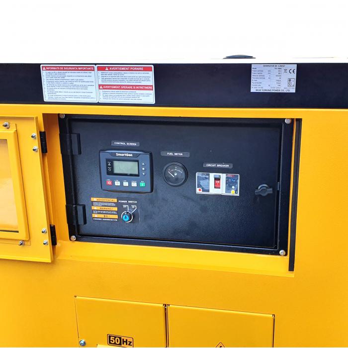 Stager YDY89S3 Generator insonorizat diesel trifazat 80kVA, 115A, 1500rpm [0]