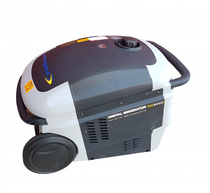 Stager YGE3000i Generator digital invertor monofazat, 2.8kW, benzina, pornire la sfoara [0]