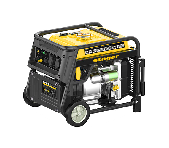 Stager YGE3500i Generator digital invertor monofazat, 3kW, benzina, pornire la sfoara 0