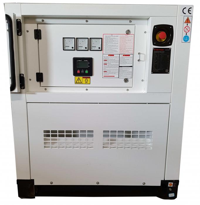 Tide Power TC40C-T Generatorl insonorizat diesel trifazat, 40kVA, 57A, 1500rpm cu automatizare [1]